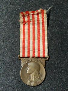 A12Ju) Belle médaille militaire MORLON de la guerre 14/18 french medal