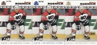 01-02 Pacific Adrenaline Jeremy Roenick /62 BLUE Parallel Flyers 2001