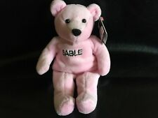 SABLE - 38 Special WWF Numbered Attitude Bear July 99 Titan Sports