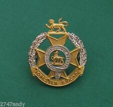 "The Forester Brigade ""Officers"", 100% Genuine British Army Military Cap Badge"