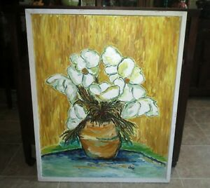 Noted Artist JOIE McLEMENTS - Modern IMPRESSIONIST PAINTING California - SHOWN