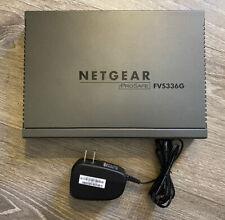 Netgear ProSafe Fvs336G Dual Wan Gigabit Ssl Vpn Firewall - Tested Working