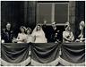 Mariage de la Reine Elizabeth II et du Prince Philip  Vintage silver print  Ti