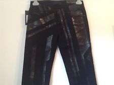 100 Auth Diesel Black Gold Limited Edition Biker Jeans. 26