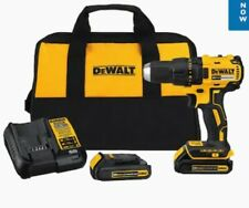 DEWALT DCD777C2 20V Max Li-Ion Compact Brushless Drill Driver Kit ( BRAND NEW )