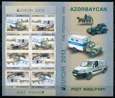 Aserbaidschan Azerbaijan 2013 CEPT Post Fahrzeuge Autos 973-974 D Markenheft MNH