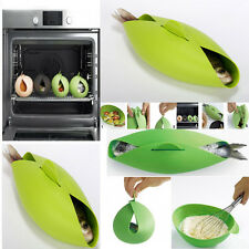 Multifunctional bowl Silicone Folding Bowl Cooking Fish Egg Steam Roaster TOOL