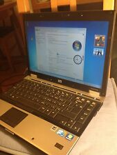 "HP ELITEBOOK 6930P CORE2 DUO @ 2,26 ghz! 2GB 160 HD 14,1"" lcd WIFI  WINDOWS 7"