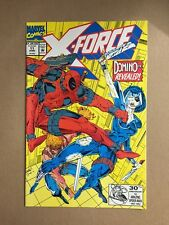 X-FORCE #11 APPEARANCE OF DOMINO EARLY DEADPOOL 1ST PRINT MARVEL COMICS (1992)