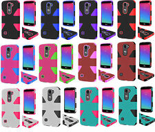 For LG US550 Logos 4G LTE Escape 2 Spirit H442 Dynamic Hybrid Case Phone Cover