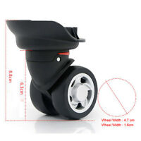 Luggage Wheel Repair Suitcase Spare Caster Replacement 360 Swivel Wheel W055