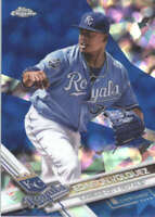 EDINSON VOLQUEZ 2017 TOPPS CHROME SAPPHIRE EDITION #111 ONLY 250 MADE