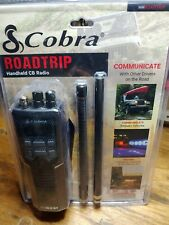 New listing Cobra Hh Rt 50 Road Trip Portable 40 Channel Cb Radio With External Antenna New