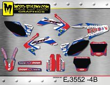 Honda CRf 250R 2006 up to 2009 Moto StyleMX graphics decals kit stickers