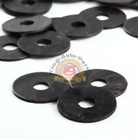 Black Steel Flat Washer 1/4 Qty 100 Black FlatWasher