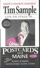 Tim Sample POSTCARDS FROM MAINE VHS Live on Stage Full Length Concert Video