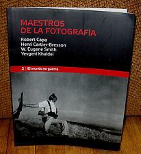 New MAESTROS DE LA FOTOGRAFIA Robert Capa Print Cartier Bresson Eugene Smith PB