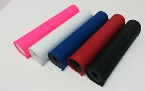 Solid Color - Handlebar Pad Only - Black, Blue, Red, White, Yellow or Pink