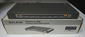 Belkin F1DP116AEA OmniView SMB 16-Port CAT5 KVM Switch