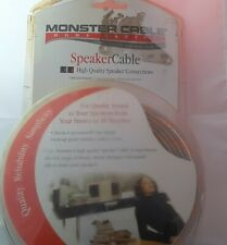 Monster Cable 50 Ft Speaker Cable New