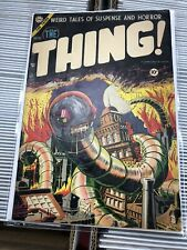 The Thing #15 Classic Steve Ditko Pre-Code Horror Worm Cover