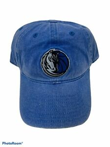 Official NBA Licensed Dallas Mavericks Adidas Hat Cap Adjustable Denim Blue