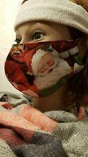 Gesichtsmaske Mund- Nasenabdeckung Maske Erwachsene Weihnachtsmann Liederbuch