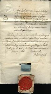 1808 FORTROSE Fine BURGESS Document to James Grant, Late PROVOST of INVERNESS