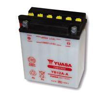 12v 12ah batería YUASA yb12a-a (134 x 80 x 160 mm) para Honda CB CBX cm