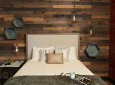 Reclaimed Barn Wood Style Weathered Hardwood Rustic Boards 8 Piece, 10.5 Sq Ft G