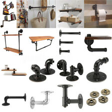 AU 32 Style Vintage Industrial Pipe Retro Steampunk Wall Shelves Display Storage