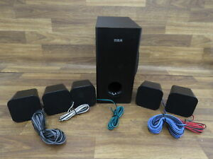 RCA RTB1016WE BLU-RAY Home Theater Speakers ONLY