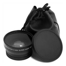 BA_ 52MM 0.45X Super Wide Angle Macro Lens for Nikon D3200 D3100 D5200 D5100 Hea