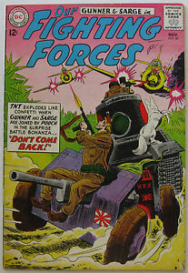 Our Fighting Forces #80 (Nov 1963, DC), FN-VFN condition