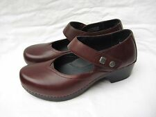 "Women's Dansko ""Tandy"" brown Leather Mary Jane Shoes 42 (US 12)"
