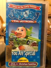 Jay Jay the Jet Plane VHS ~ You Are Special (3 Stories for Christian Families)
