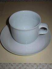 "HUTSCHENREUTHER  ""BIANCA""  CUPS AND SAUCERS (7 SETS)"
