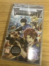 RARE NEW SEALED VALKYRIA II 2 CHRONICLES PLAYSTATION PSP GAME SEGA COLLECTORS