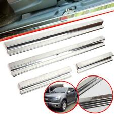 Scuff Plate Sill Door Step Chrome Fit Chevrolet Colorado Z71 4 Doors 2012-2016