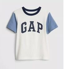 New Boys Baby Gap Logo Short Sleeve T Shirt Size 4t