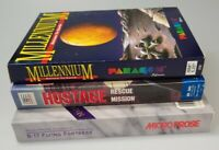 Vintage PC Games Lot Of 3 Millenium ROE Hostage Rescue Mission B-17 Flying Fortr