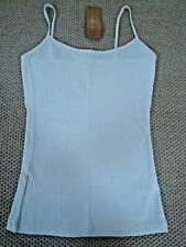 Pure Cotton little WHITE Vest / Strappy / Camisole_ Size S BNWT