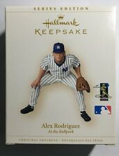 2006 Hallmark Alex Rodriguez Mlb Yankees At the Ballpark Collector's Series #11