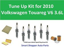 Tune Up Kit for 2010 Volkswagen Touareg Cabin Air Filter, Oil Filter, Spark Plug