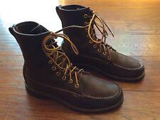 Vintage GOKEY GOKEY'S Men's Sport Hunting Brown Leather Boots 7.5 D