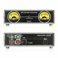 Analog VU Meter Panel DB Sound Level Indicator for Amplifier Preamp w/ Backlight