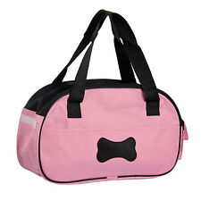 Bag Carrier for Pet Puppy Dog Cat Travel Carrying Tote Pink