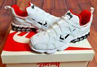 Nike x Stussy Air Zoom Kukini Spiridon Cage 2 White Size UK5.5 US 6 Brand New