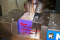 QUADRALLEL- New Mill Tool for Machinist, Bridgeport, CNC Vise Vice Jaw Fits KURT