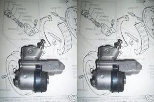 (x2) AUSTIN MORRIS 1800 2200 Landcrab REAR BRAKE WHEEL CYLINDERS (From May65-75)